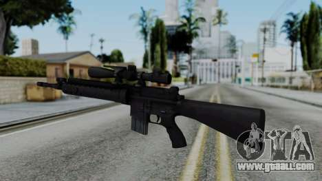 Arma AA MK12 SPR for GTA San Andreas second screenshot