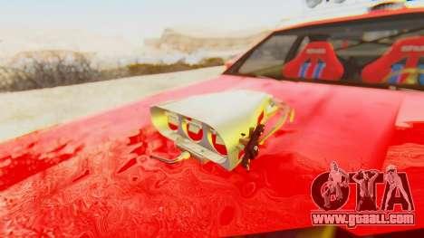 Virgo v2.0 for GTA San Andreas back view