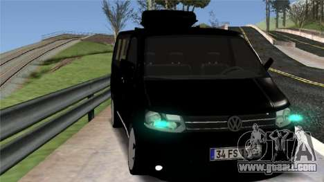Volkswagen bus By.Snebes for GTA San Andreas left view