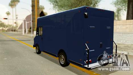 Boxville from GTA 5 for GTA San Andreas back left view