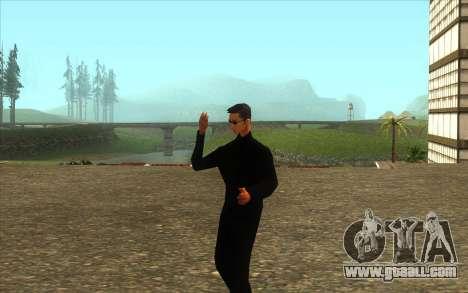 Visiting Wu Zi Mu for GTA San Andreas second screenshot