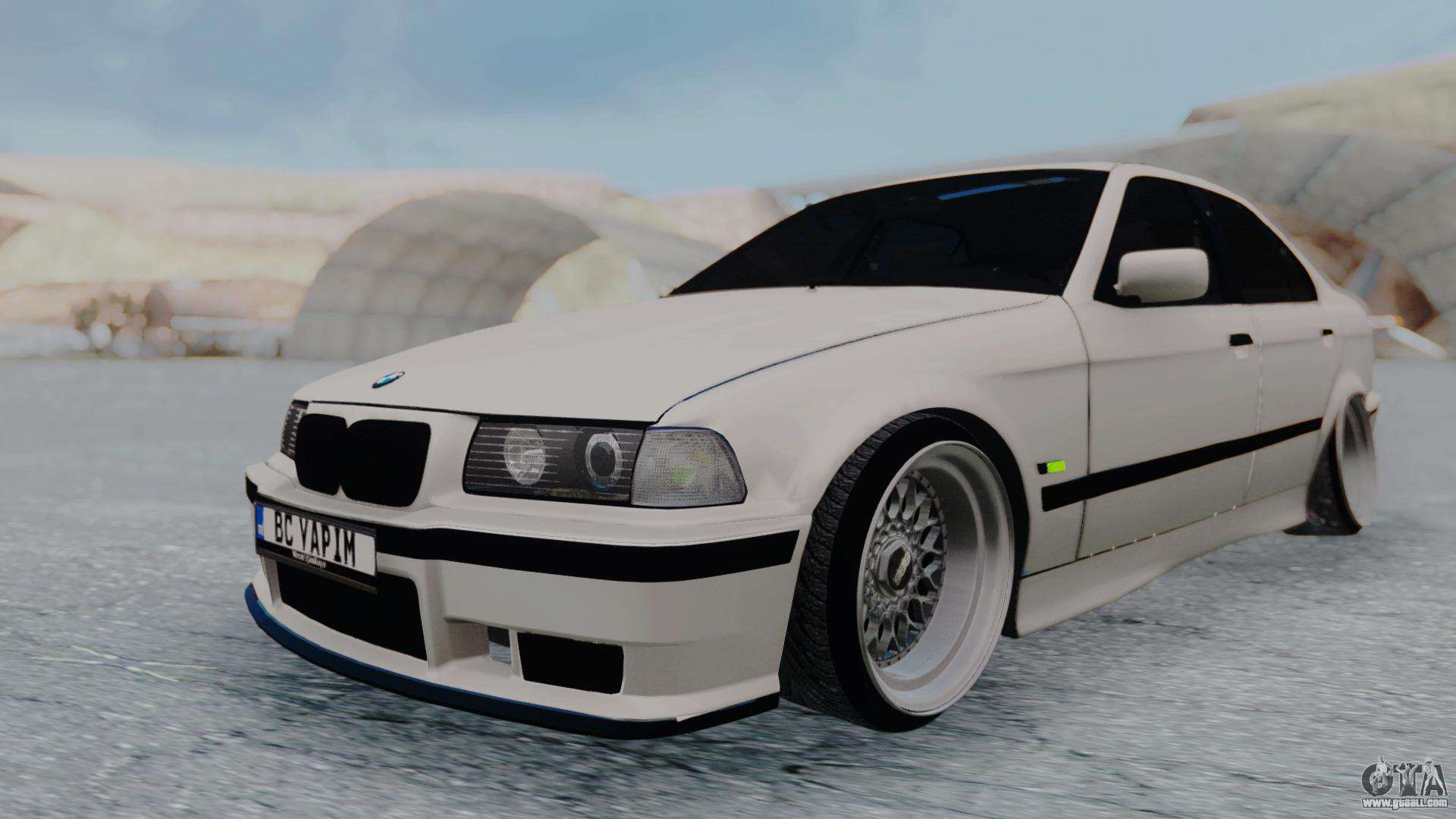 bmw 3 er e36 for gta san andreas. Black Bedroom Furniture Sets. Home Design Ideas