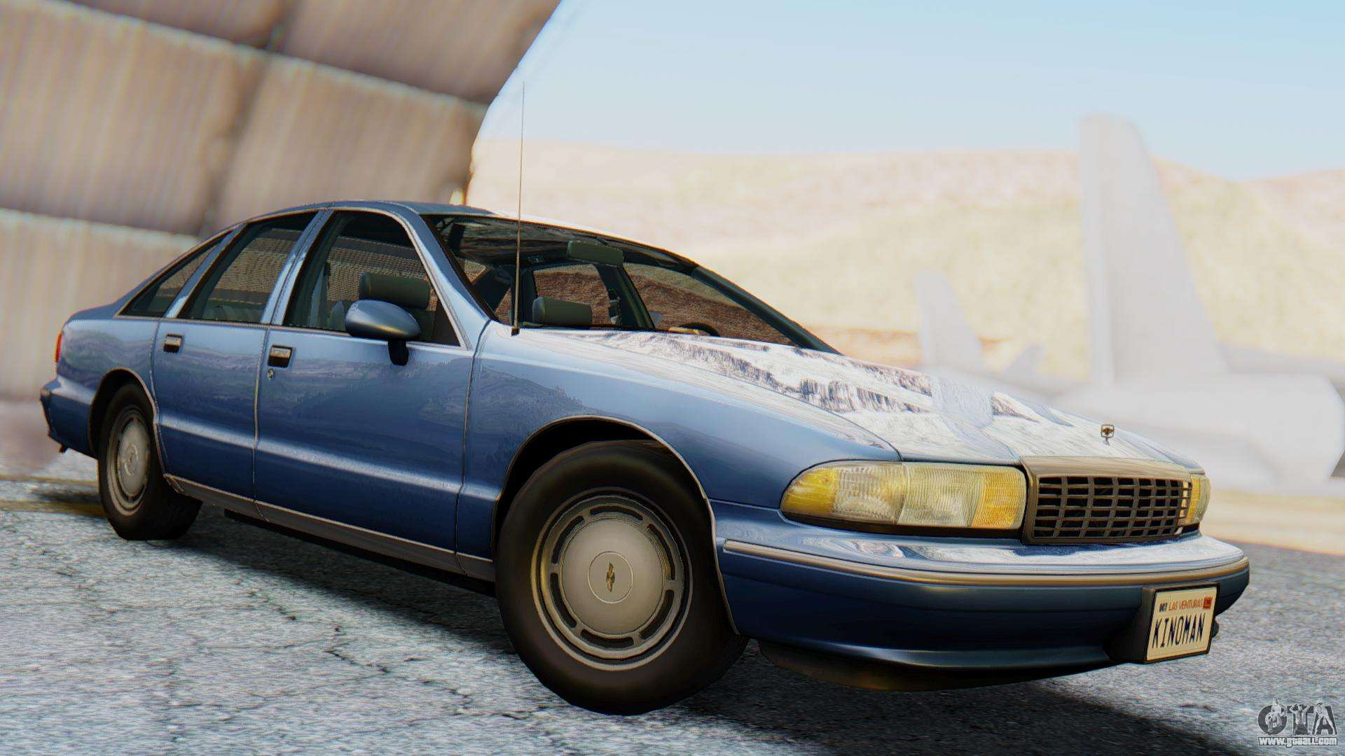 Chevrolet Caprice 1993 For Gta San Andreas