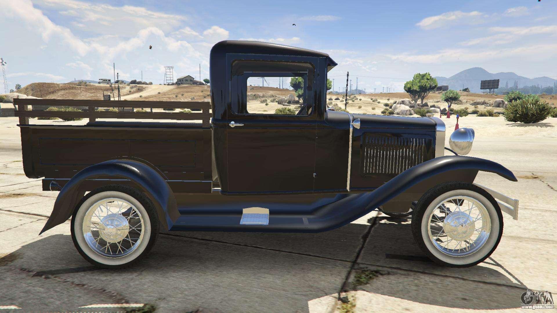 ford a pick up 1930 for gta 5. Black Bedroom Furniture Sets. Home Design Ideas