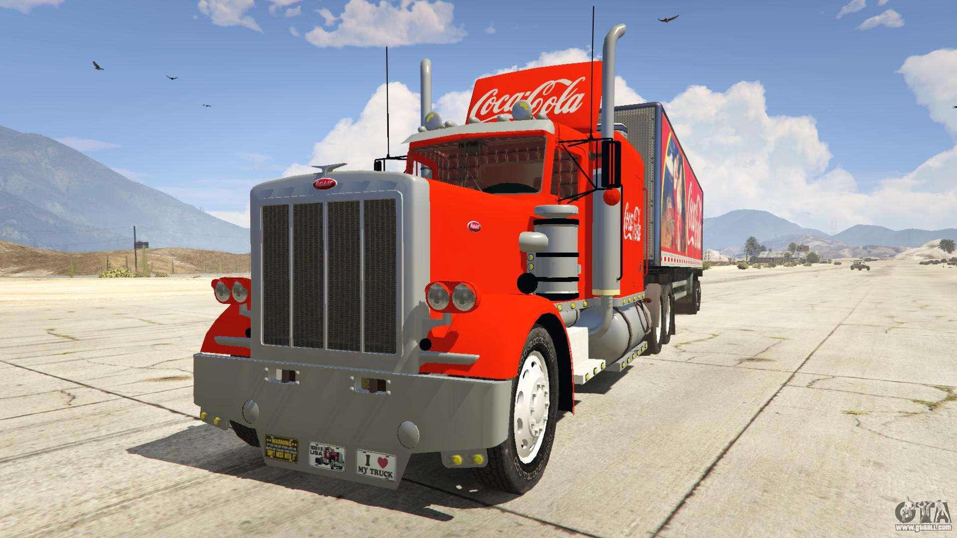 coca cola truck v1 1 for gta 5. Black Bedroom Furniture Sets. Home Design Ideas