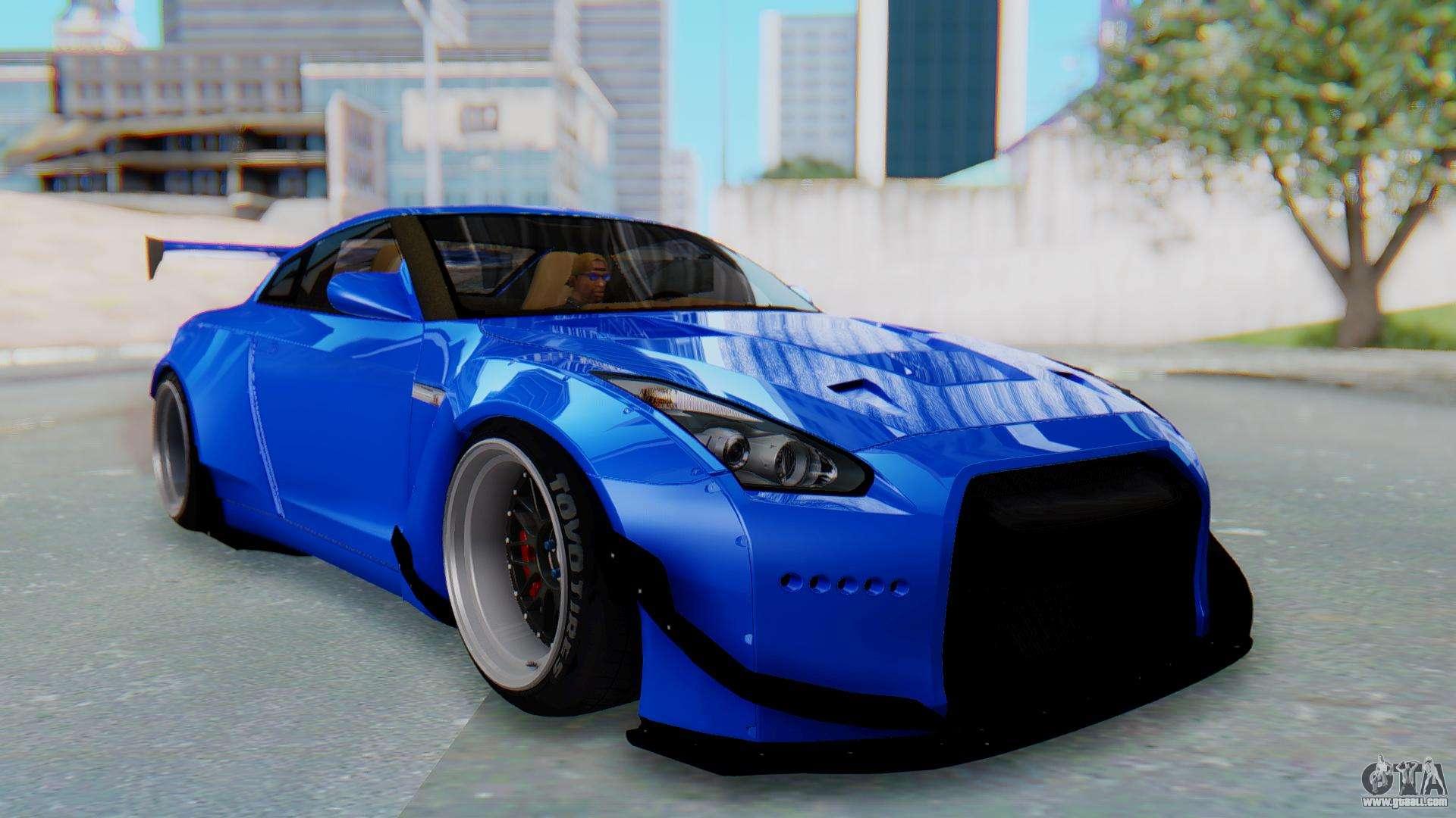 Nissan GT-R R35 Rocket Bunny for GTA San Andreas