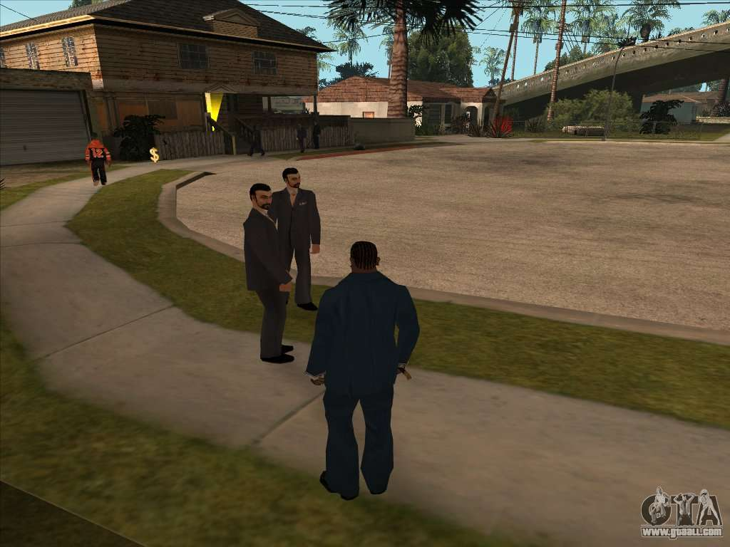 Russian Mafia In Ganton For Gta San Andreas
