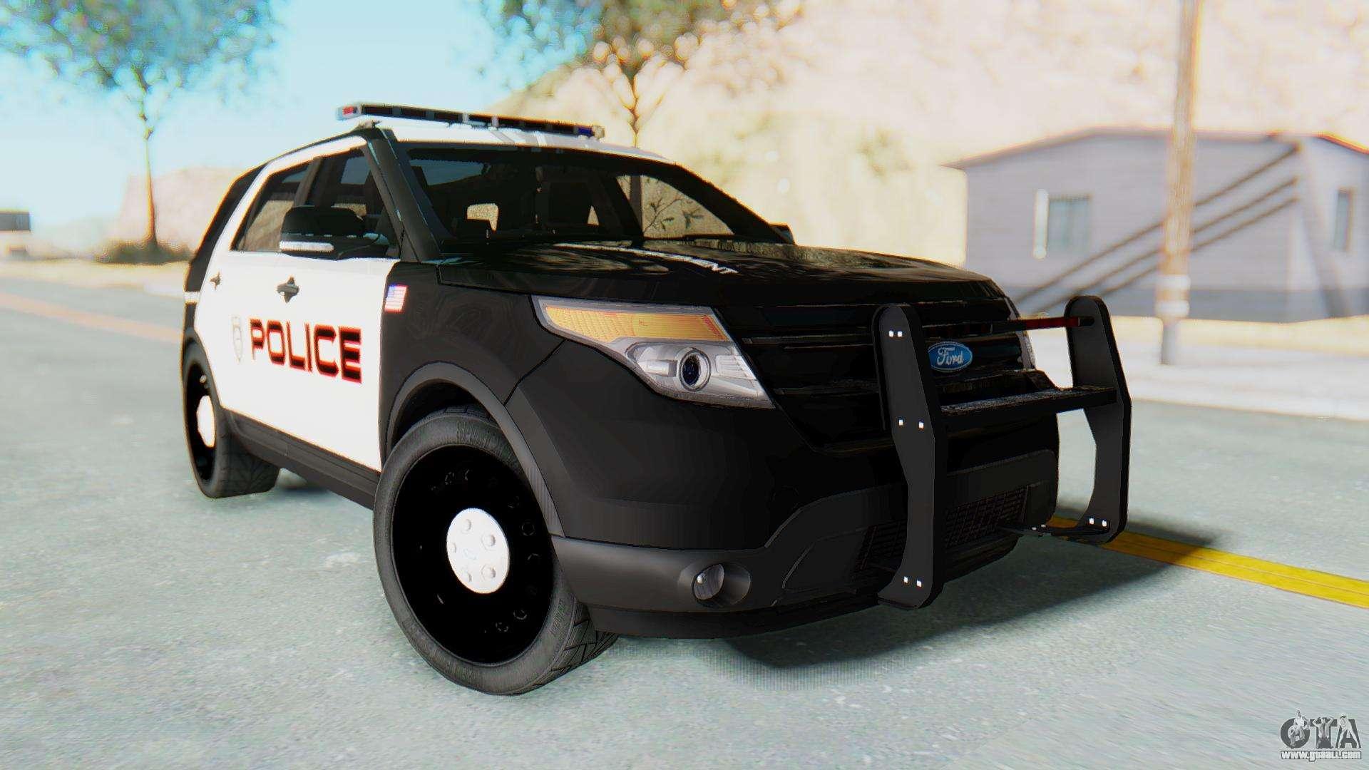 Ford Explorer Police for GTA San Andreas Gta San Andreas Police Cars