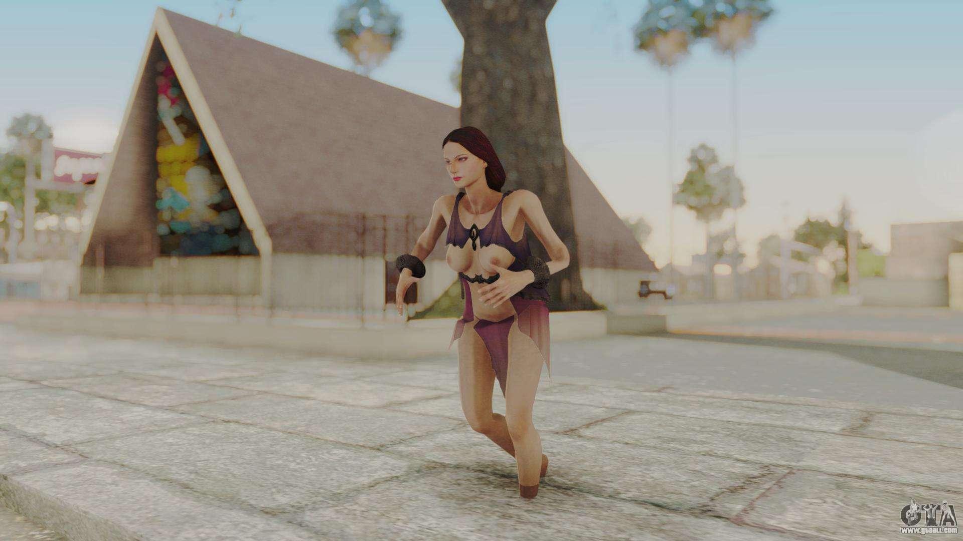 Aphrodite - God Of War 3 for GTA San Andreas