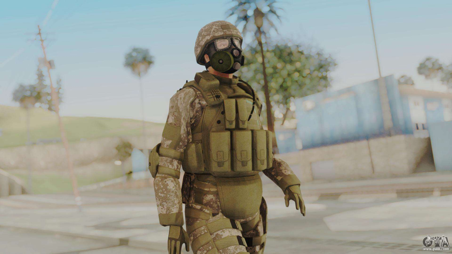 us army urban soldier gas mask from alpha protoc for gta san andreas. Black Bedroom Furniture Sets. Home Design Ideas