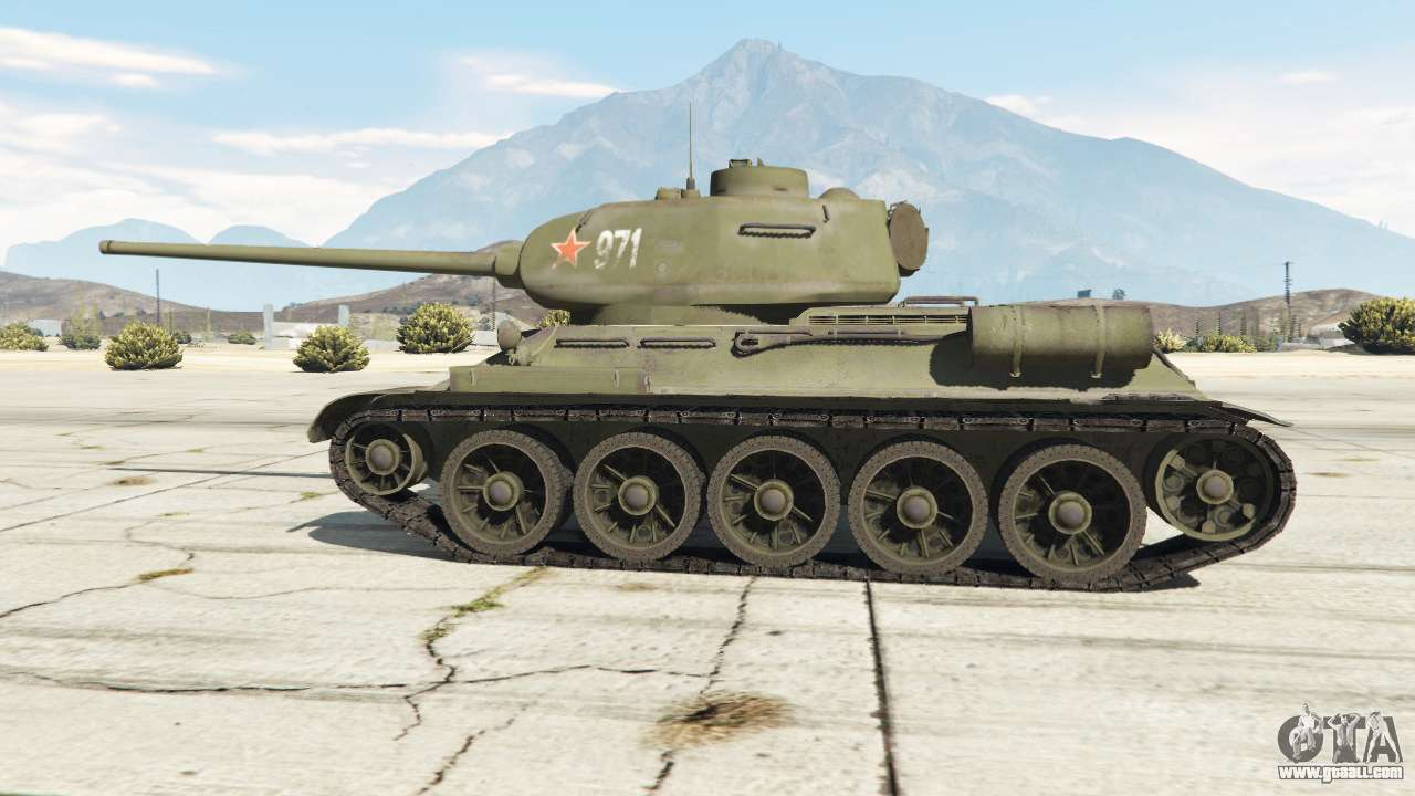 T 34 85 For Gta 5