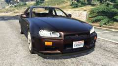 Nissan Skyline GT-R (R34) 1999 for GTA 5
