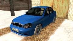 Daewoo Lanos 2001 Winter