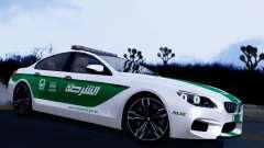 BMW M6 F13 Gran Coupe 2014 Dubai Police