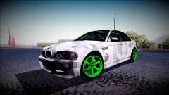 BMW M3 E46 Drift Monster Energy for GTA San Andreas