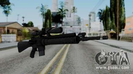 Arma AA MK12 SPR for GTA San Andreas