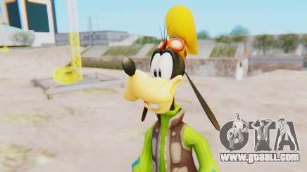 Kingdom Hearts 2 Goofy Default for GTA San Andreas