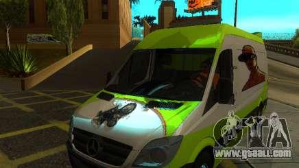 Mercedes-Benz Sprinter for GTA San Andreas