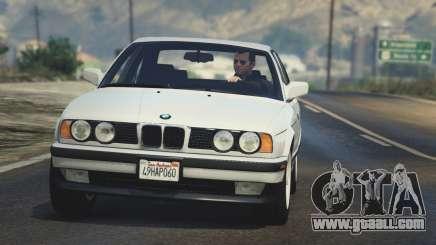 BMW 535i E34 for GTA 5