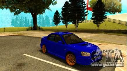 Subaru Impreza WRX STI Spec-C for GTA San Andreas