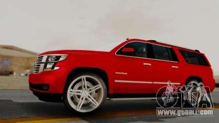 Chevrolet Suburban 2015 LTZ for GTA San Andreas