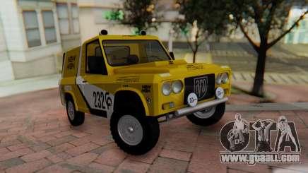 Aro 242 - Dakar 1985 for GTA San Andreas