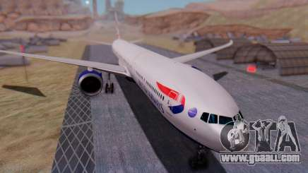 Boeing 777-9x British Airways for GTA San Andreas