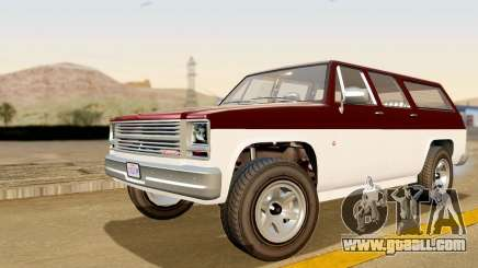 GTA 5 Declasse Rancher XL IVF for GTA San Andreas