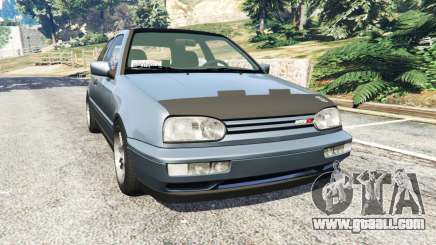 Volkswagen Golf Mk3 VR6 1998 Highline DTD v1.0a for GTA 5