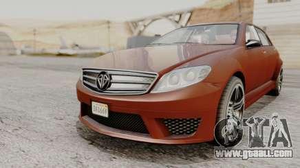 GTA 5 Benefactor Schafter LWB for GTA San Andreas