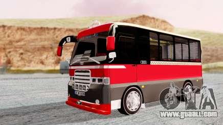 Otokar Magirus M2000 26M0009 for GTA San Andreas