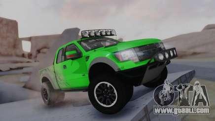 Ford F-150 SVT Raptor 2012 for GTA San Andreas