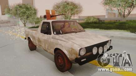 Volkswagen Caddy Military Vehicle for GTA San Andreas