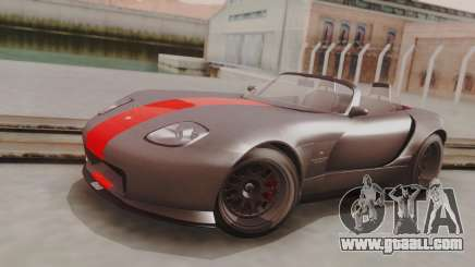 GTA 5 Bravado Banshee 900R Carbon IVF for GTA San Andreas