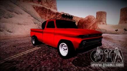 Chevrolet C10 Rusty Rebel for GTA San Andreas
