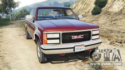 GMC Sierra 2500 Extended Cab 1992 [Beta] for GTA 5