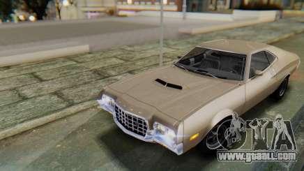 Ford Gran Torino Sport SportsRoof (63R) 1972 PJ2 for GTA San Andreas
