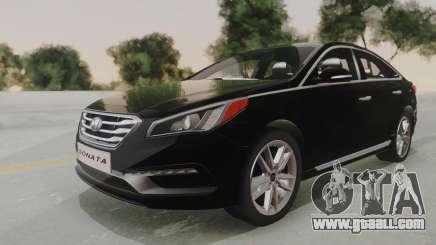 Hyundai Sonata Turbo 2.0 2015 V1.0 Final for GTA San Andreas