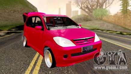 Toyota Avanza Best Modification for GTA San Andreas