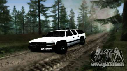 Chevrolet Suburban Offroad Final Version for GTA San Andreas