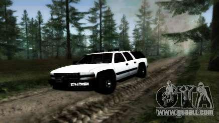 Chevrolet Suburban Offroad Final Version for GTA San Andreas