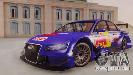 Audi A4 2008 DTM for GTA San Andreas