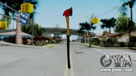 No More Room in Hell - Fire Axe for GTA San Andreas second screenshot