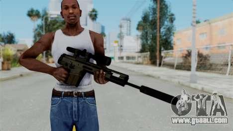 SCAR-20 v2 Folded for GTA San Andreas third screenshot