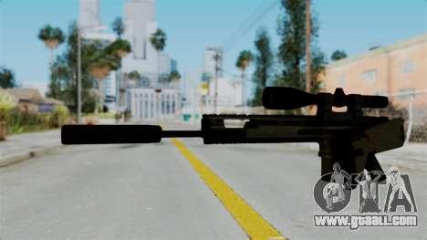SCAR-20 v1 Folded for GTA San Andreas