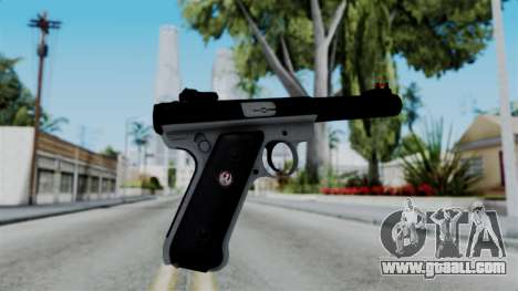 No More Room in Hell - Ruger Mark III for GTA San Andreas second screenshot