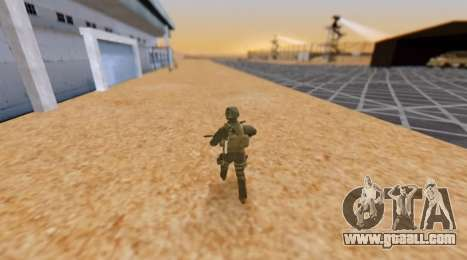 Army hour for GTA San Andreas