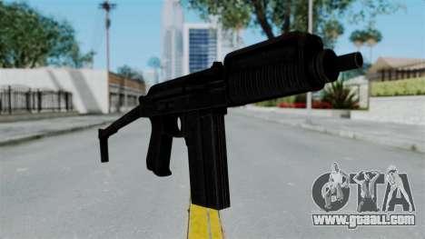 9A-91 Ironsight for GTA San Andreas second screenshot