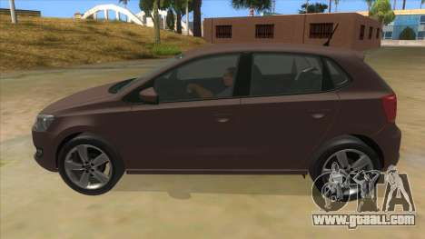 Volkswagen Polo 6R 1.4 for GTA San Andreas left view