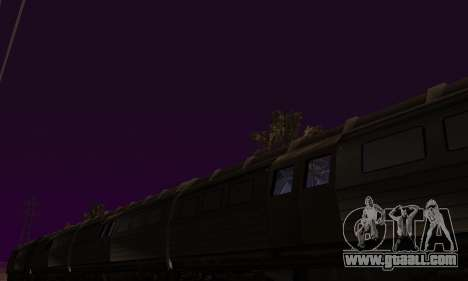 Batman Begins Monorail Train v1 for GTA San Andreas side view